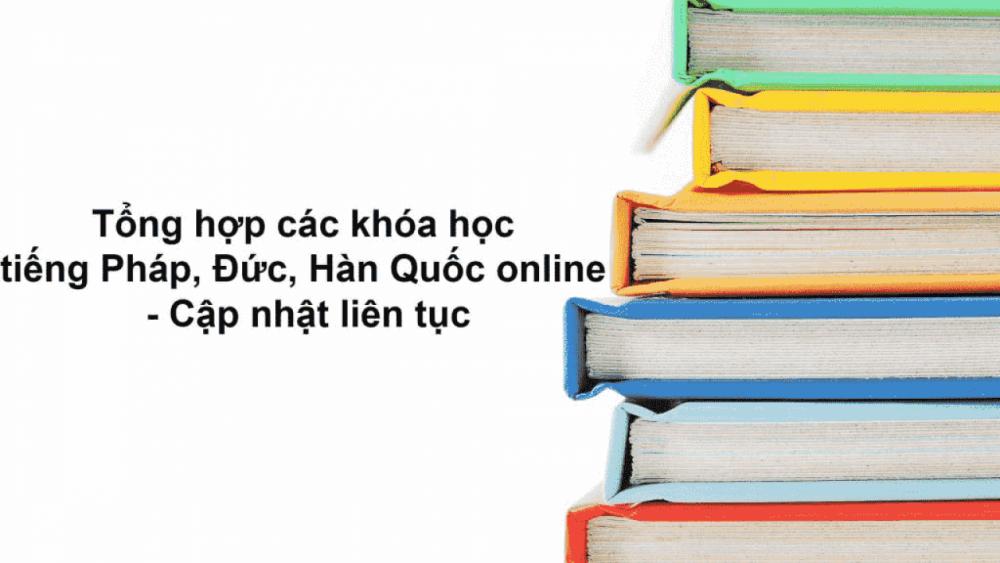 Học Tiếng Pháp Online