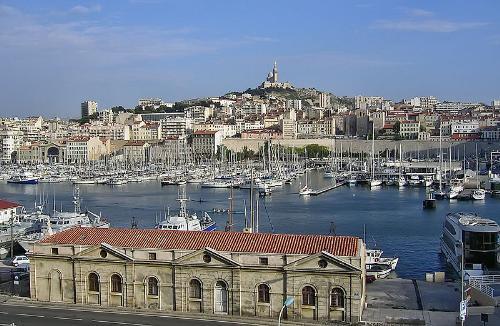 Bến cảng cổ. Thành phố Marseille