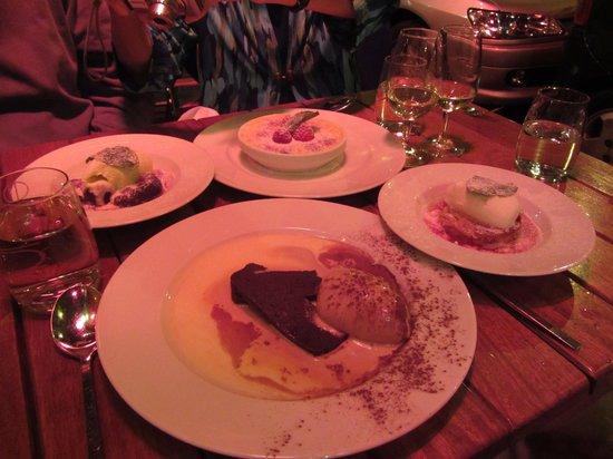Sharing Desserts