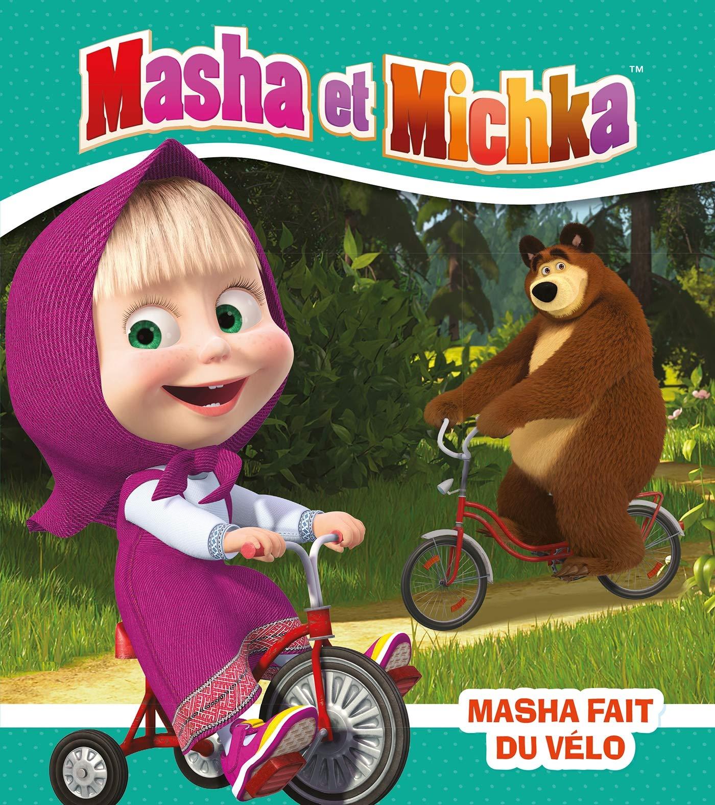 Masha et Michka - Masha fait du vélo: Amazon.fr: Godeau, Natacha: Livres