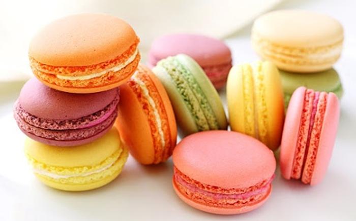 Bánh Macaron nhỏ xinh đầy màu sắc