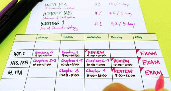 Bước đầu tiên để học tiếng Pháp chính là lập kế hoạch học tập cụ thể